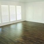 vinyl floor in room