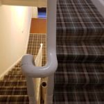 new carpet and check stair carpet