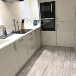 new hard flooring in kitchen